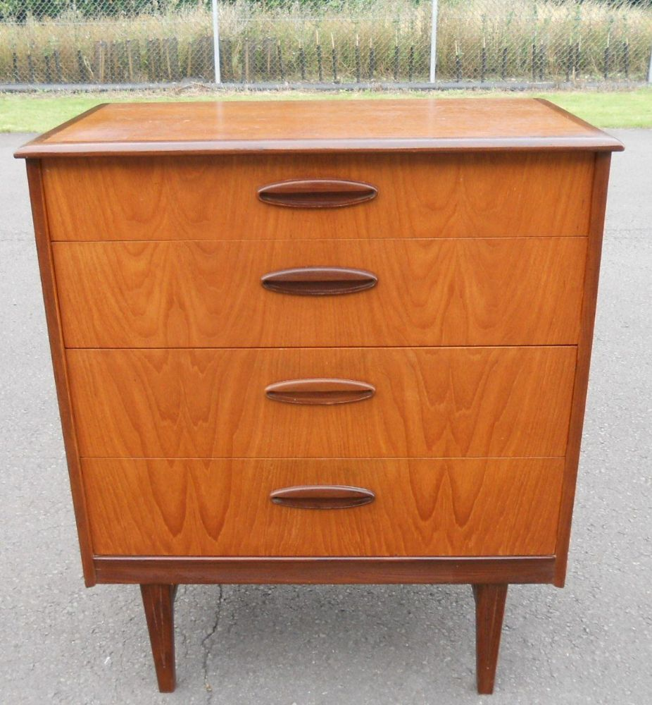 SOLD Retro Teak Small Chest of Drawers : sold retro teak small chest of drawers 4519 pekm926x1000ekm from www.harrisonantiquefurniture.co.uk size 926 x 1000 jpeg 138kB